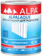 Alpa Alpalaque эмаль алкидная для радиаторов супербелая
