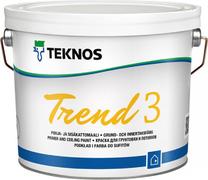 Текнос Trend 3 краска для грунтовки и потолков