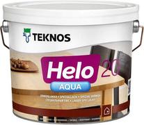 Текнос Helo Aqua 20 полуматовый водоразбавляемый специальный лак