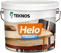 Текнос Helo Aqua 40 полуглянцевый водоразбавляемый специальный лак