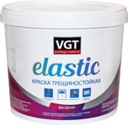 ВГТ Gallery Elastic краска трещиностойкая фасадная резиновая