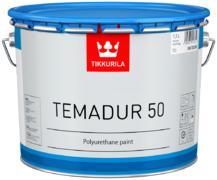 Тиккурила Темадур 50 двухкомпонентная полуглянцевая полиуретановая краска