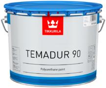 Тиккурила Темадур 90 двухкомпонентная высокоглянцевая полиуретановая краска