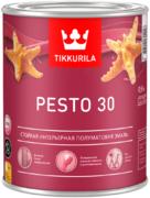 Тиккурила Песто 30 стойкая интерьерная полуматовая эмаль