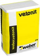 Вебер Ветонит RL 45 напыляемый раствор на цементной основе