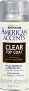 Rust-Oleum American Accents Ultra Cover 2X Coverage Satin Clear лак финишный матовый для всех эффектов