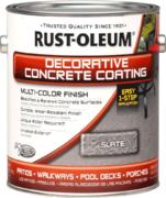 Rust-Oleum Decorative Concrete Coating Multi-Color Finish декоративное покрытие