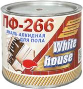 White House ПФ-266 эмаль алкидная для пола