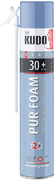 Kudo Home Pur Foam 30+ бытовая всесезонная монтажная пена