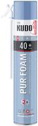 Kudo Home Pur Foam 40+ бытовая всесезонная монтажная пена