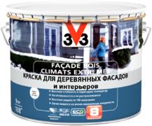 V33 Facade Bois Climats Extremes краска для деревянных фасадов и интерьеров