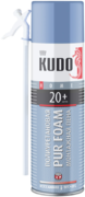 Kudo Home Pur Foam 20+ бытовая всесезонная монтажная пена