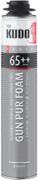 Kudo Proff Gun Pur Foam 65++ профессиональная летняя монтажная пена