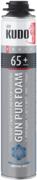 Kudo Proff Gun Pur Foam 65+ Arktika профессиональная зимняя монтажная пена