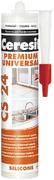 Ceresit CS 24 Silicone Premium универсальный высокоэластичный силиконовый герметик