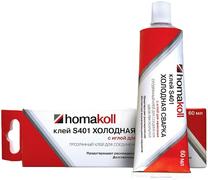 Homa Homakoll S401 прозрачный клей холодная сварка с иглой для нанесения