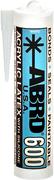 Abro 600 Acrylic Latex with Silicone акриловый латекс герметик с силиконом