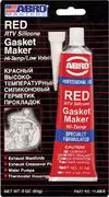 Abro Masters Red RTV Silicone Gasket Maker герметик прокладок высокотемпературный красный