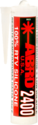 Abro 2400 100% RTV Silicone Sealant герметик прокладок силиконовый картридж