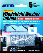 Abro Instant Windshield Washer Tablets таблетки-добавка в бачок омывателя