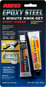 Abro Epoxy Steel 4 Minute Kwik-Set эпоксидный клей авто