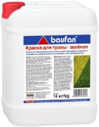 Пуфас Baufan краска для травы зеленая