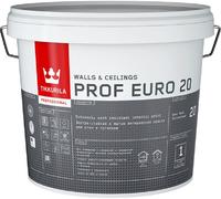 Тиккурила Проф Евро 20 экстра-стойкая к мытью интерьерная краска