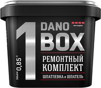Danogips Dano Box 1 ремонтный комплект шпатлевка и шпатель