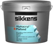 Sikkens Wood Coatings Alphacryl Plafond глубокоматовая акриловая краска для стен и потолков