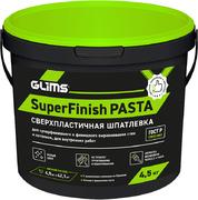 Глимс Superfinish Pasta сверхпластичная шпатлевка