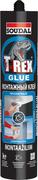 Soudal T-Rex Прозрачный (1+1 бесплатно) монтажный клей (набор)