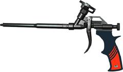 Пистолет для монтажной пены с тефлоновым покрытием Варяг