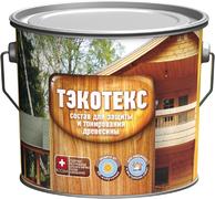 Ярославские Краски Тэкотекс средство для защиты и тонирования древесины
