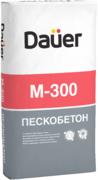 Dauer М-300 пескобетон сухая смесь