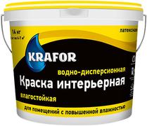 Крафор водно-дисперсионная краска латексная влагостойкая