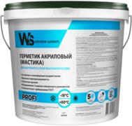 WS Profi герметик акриловый для наружного слоя монтажного шва
