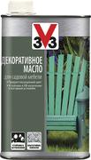 V33 декоративное масло для садовой мебели