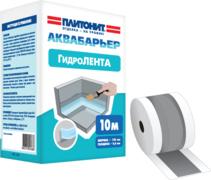Плитонит Аквабарьер Гидролента гидроизоляционная лента