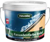 Feidal Novatic Fassadenfarbe Relief Prof профессиональная фактурная краска по минеральным основаниям