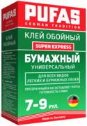 Пуфас Super Express клей обойный бумажный универсальный