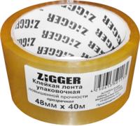 Клейкая лента упаковочная Zigger