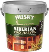 Хаски Siberian Эко-Лазурь лессирующий деревозащитный состав