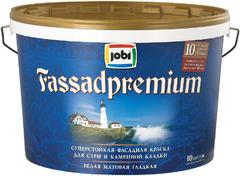 Jobi Fassadpremium суперстойкая краска для стен и каменной кладки акриловая