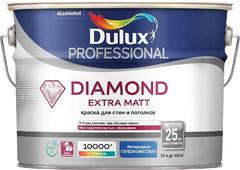 Dulux Professional Diamond Extra Matt износостойкая краска для стен и потолков