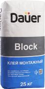 Dauer Block клей монтажный для газобетона, пенобетона