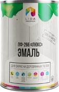 Лакокраска Lida ПФ-266 Люкс эмаль для окраски деревянных полов