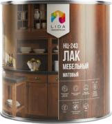 Лакокраска Lida НЦ-243 лак мебельный