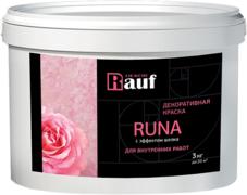 Rauf Dekor Runa декоративная краска с эффектом шелка для внутренних работ