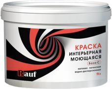 Rauf R 24 краска интерьерная моющаяся латексная водно-дисперсионная