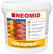 Неомид Tor Plus Super профессиональный грунт для защиты торцов древесины